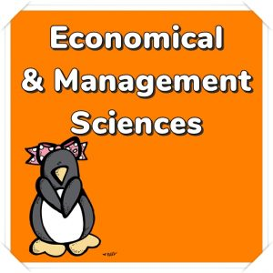 Economical and Management Sciences
